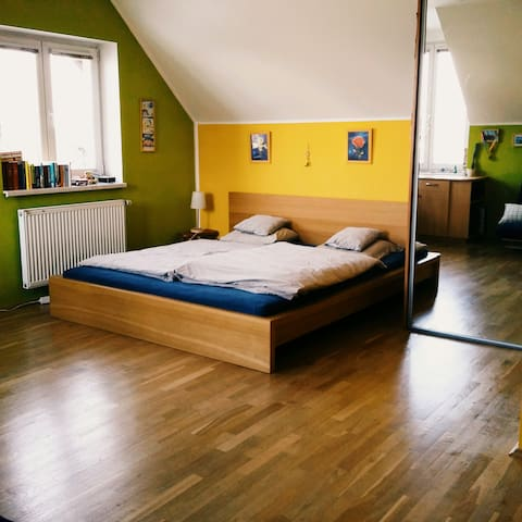 Cozy room in a family house - Praha