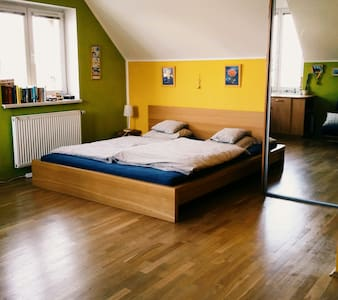 Cozy room in a family house - Praga