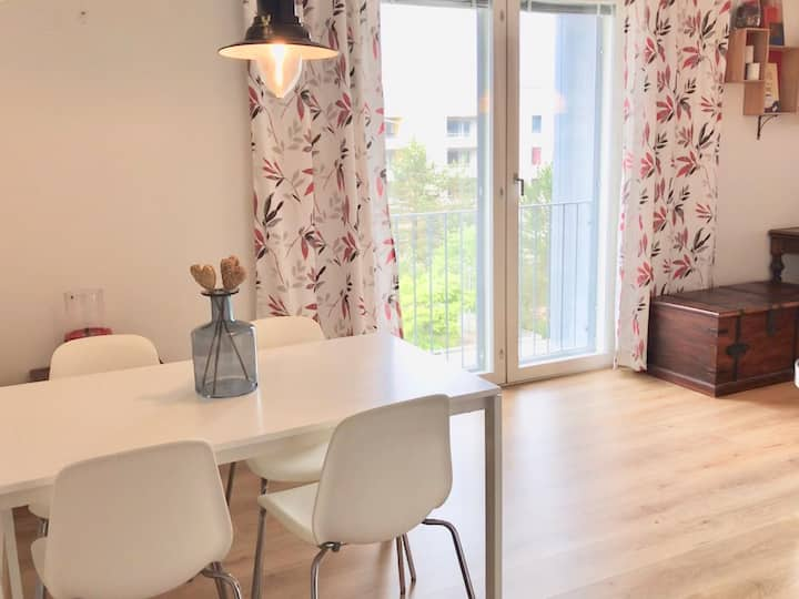 54 m2 fully equipped apartment (Built 2018)
