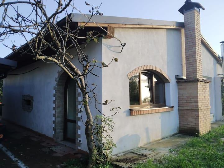 Casa con sauna