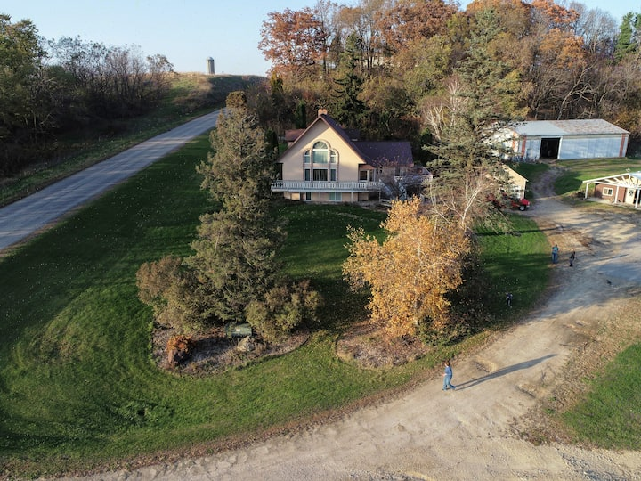 TerraVista House in Driftless Wisconsin