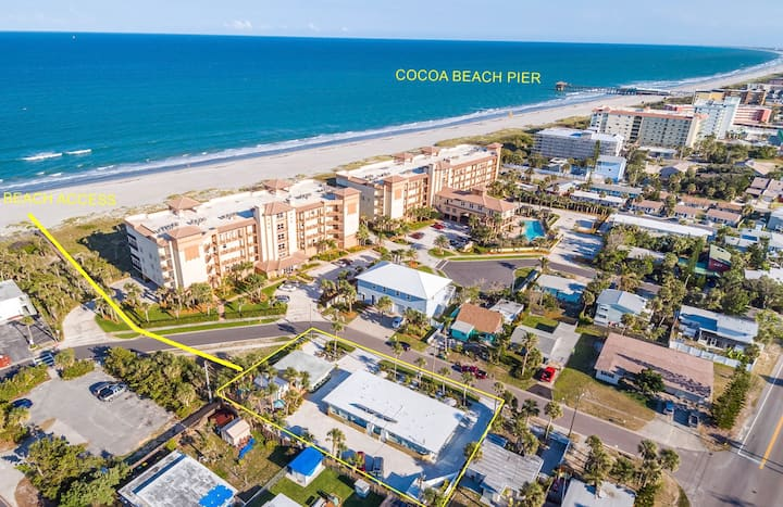 Gorgeous SPARKLING 1BR with Amazing Beach Access!