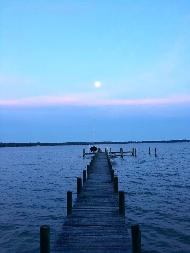 Evening at the dock
