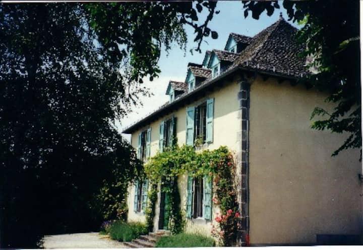 La maison de Toursac à  Polminhac