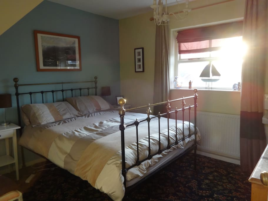 Double Bedroom. With views over the rooftops of lovely old Whitby