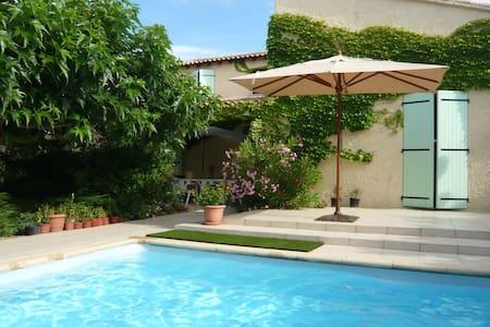 Villa avec piscine près Montpellier - Vailhauquès