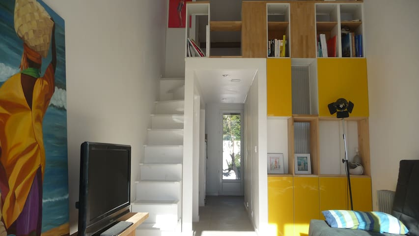 studio mezzanine neuf  - Pérols - Apartamento