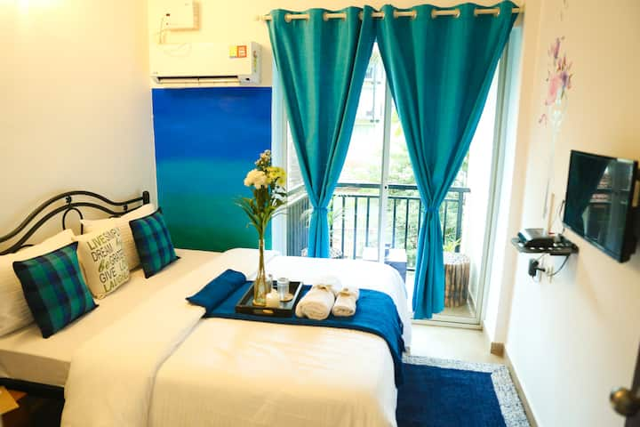 Aqua theme Boutique Room 006- Candolim