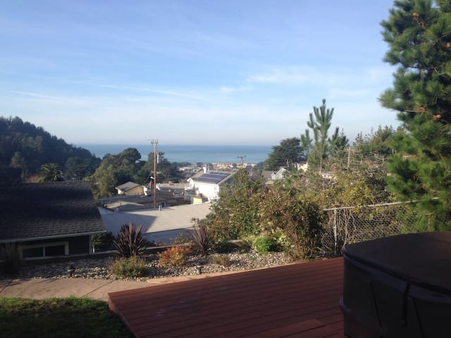 Apartment with patio and ocean view - Pacifica - Pis