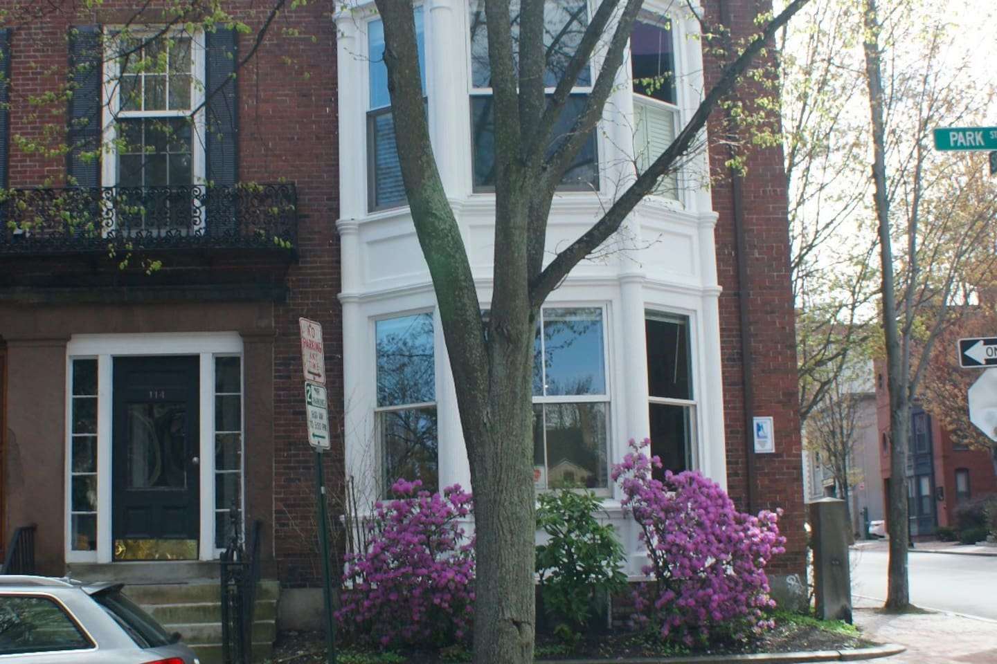 Row house apartment in Portland's historic district