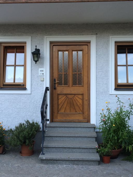 Haustüre Hofseitig