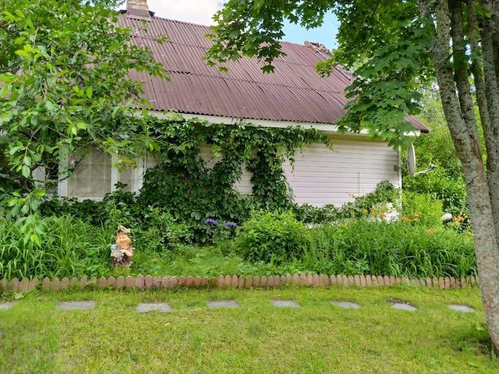 Уютный дом в Беловежской пуще