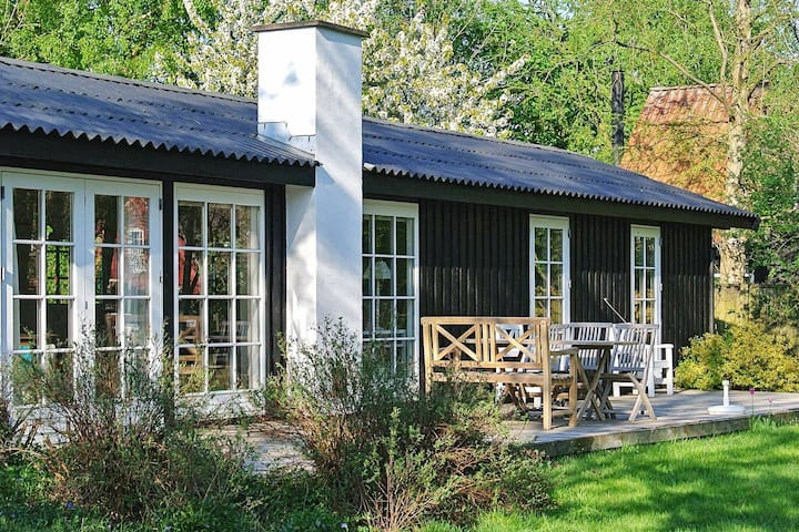 Modern Holiday Home in Hornbæk with Private Whirlpool