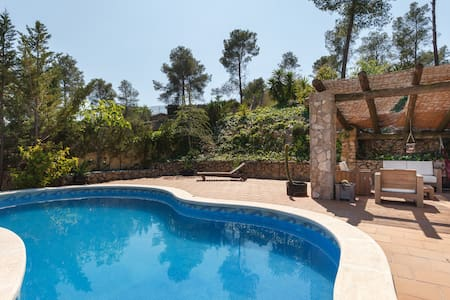 Quiet villa with pool and spectacular views - Olivella - 独立屋