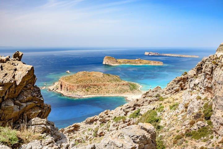 Balos and Gramvoussa island