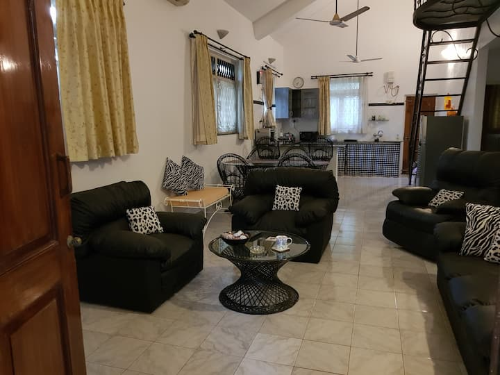 A beautiful 2 BHK Villa with a swimming pool