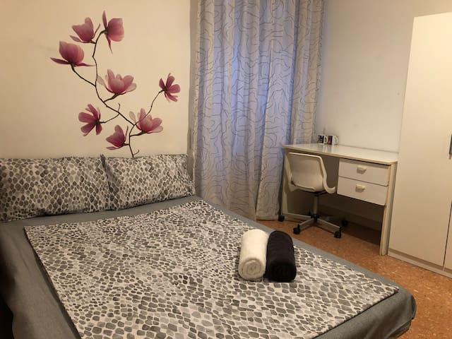 Private room near Roma Tiburtina station