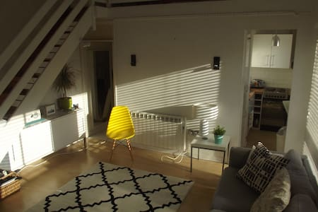 Modern studio flat with mezzanine, City Centre - Norwich