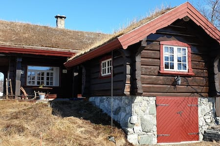 Timber cottage for up to 10 persons.
