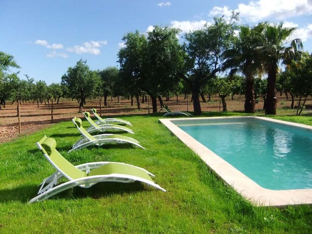 Casa de campo ideal de 2 a 8 person - Son Sardina - Hus