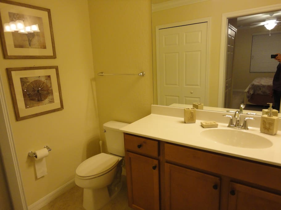 Master Bathroom with stand up shower