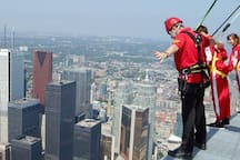 CN Tower EDGE WALK. ASK ME FOR DETAILS!! 5 minute walk