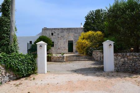 AMAZING TRULLO, A HOUSE and OWLS - Ostuni
