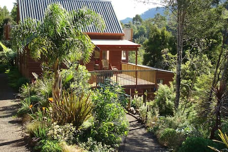 Unique, comfortable tree top home - Totara North - Ev