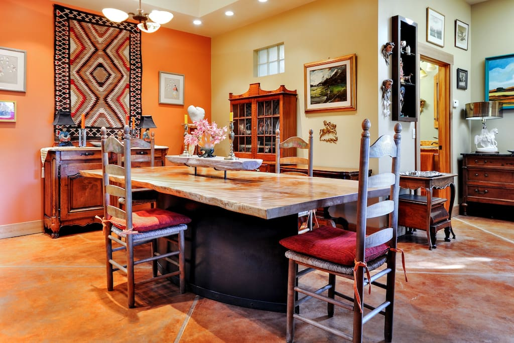Dining Table, seats 8-10 guests