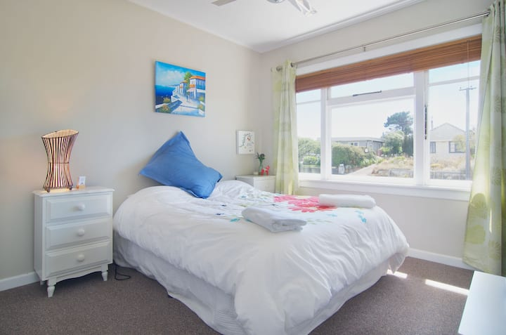 By the beach double room.
