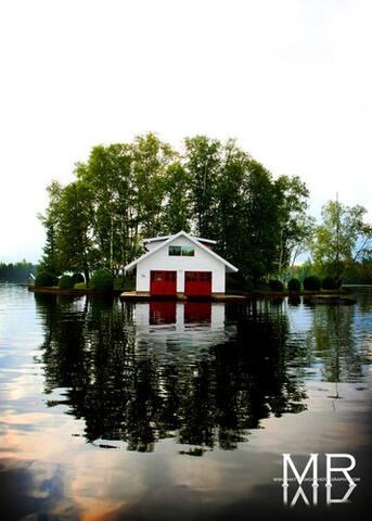 Private Island in Adirondacks - Saranac Lake - Sziget