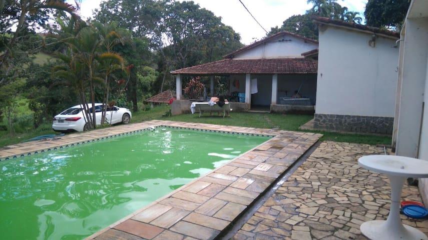 Sitio Liberdade - Com 4 quartos e piscina, em Paty - Paty do Alferes - Cottage