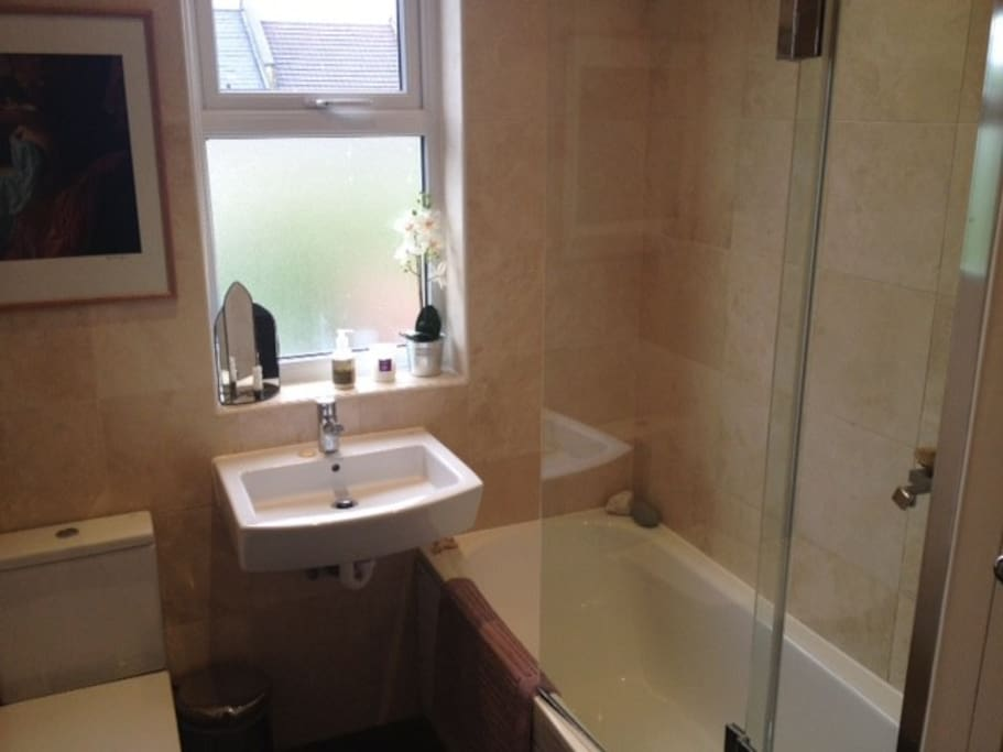 Your private bathroom - (we use a separate ensuite)