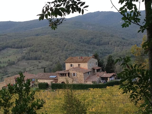 Romantic House in Winery - Radda In Chianti - Huis