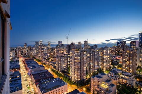 Sub Penthouse in Yaletown + FREE parking long term