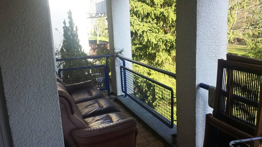 Ein-Raum-Wohnung - S Botanischer Garten mit Balkon