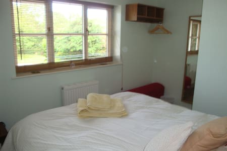 Comfortable double room, TV/DVD,  - Broad Oak, Hereford - 단독주택
