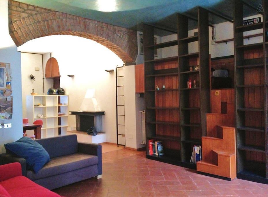 Open space caratteristico in centro appartamenti in for Appartamenti affitto milano centro
