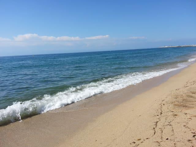 casa con piscina mar y montaña - Argentona - Apartamento