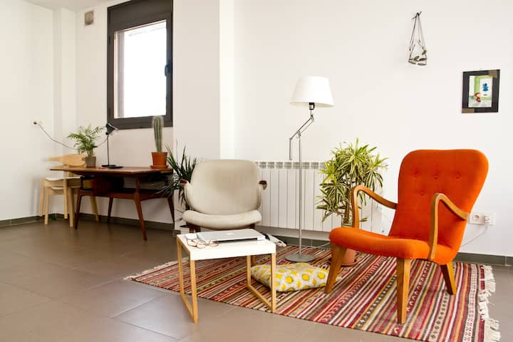 lightful apartment in poblenou