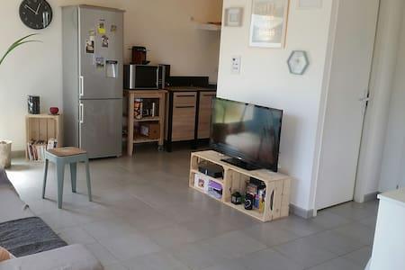 Petit Appartement agréable et lumieux avec jardin - Wohnung