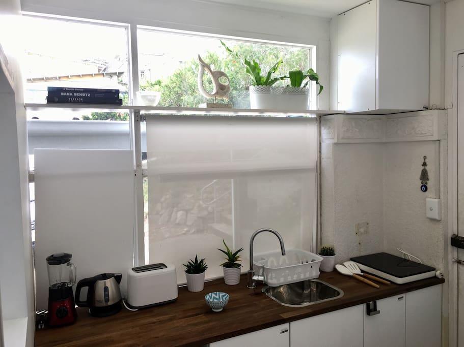 Equiped kitchenette