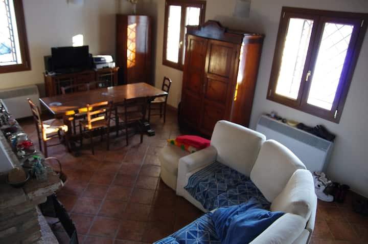 Casa nel bosco sul lago di Suviana