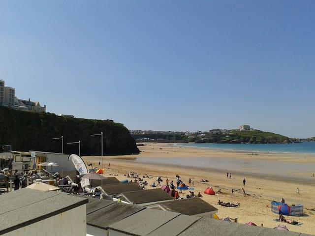 Tolcarne Beach, Just 5 mins walk