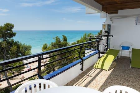 Montroig 73 primera linea , aacc, wifi, piscina - Miami Platja - Apartment