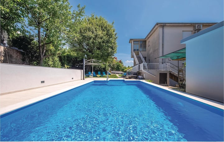 Nice home in Kostrena with WiFi and 2 Bedrooms