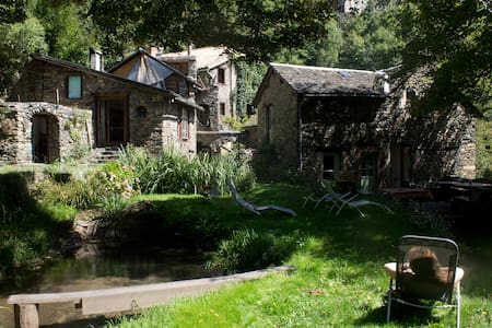 17-19th century Water Mill and its house - Ayssènes - 独立屋