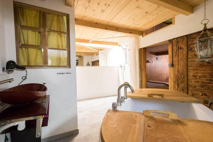 400 Year Chalet, Interlaken/Gstaad - Boltigen - Hus