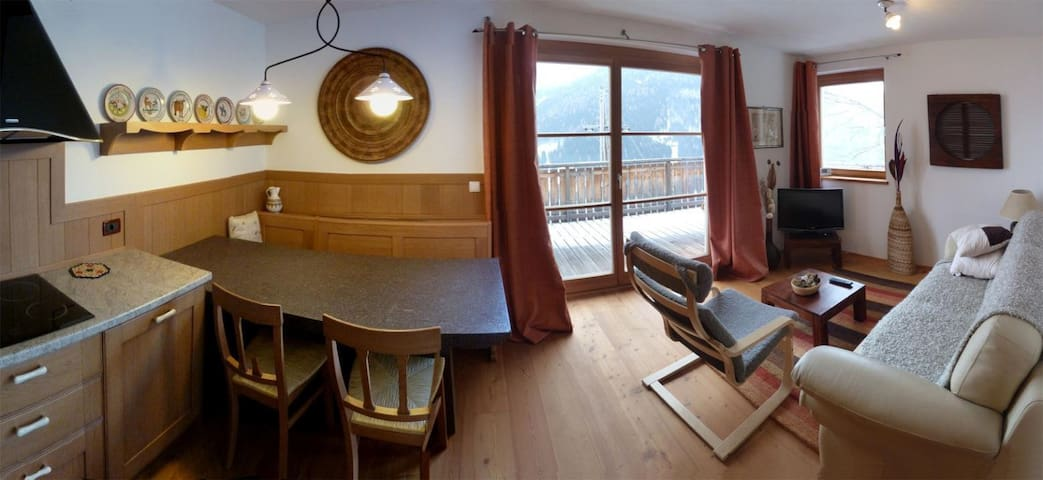 New Bright Flat with Panoramic View - Bad Kleinkirchheim