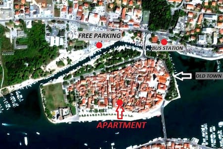 Center of the old town -Apartment - Trogir